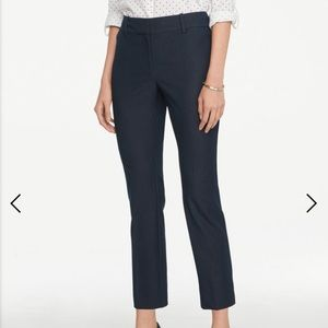 Ann Taylor Factory Curvy Polished Denim Ankle Pant
